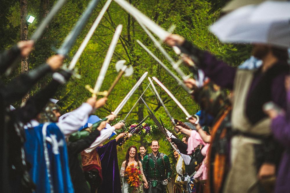 Medieval Wedding LOTR Wedding