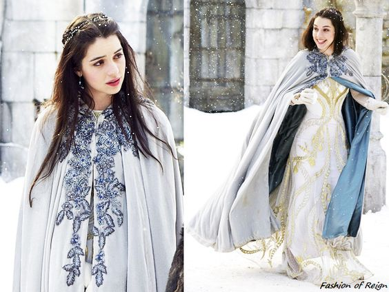 "Medieval Cloaks in ""Reign"": Fantasy for Fashionistas"
