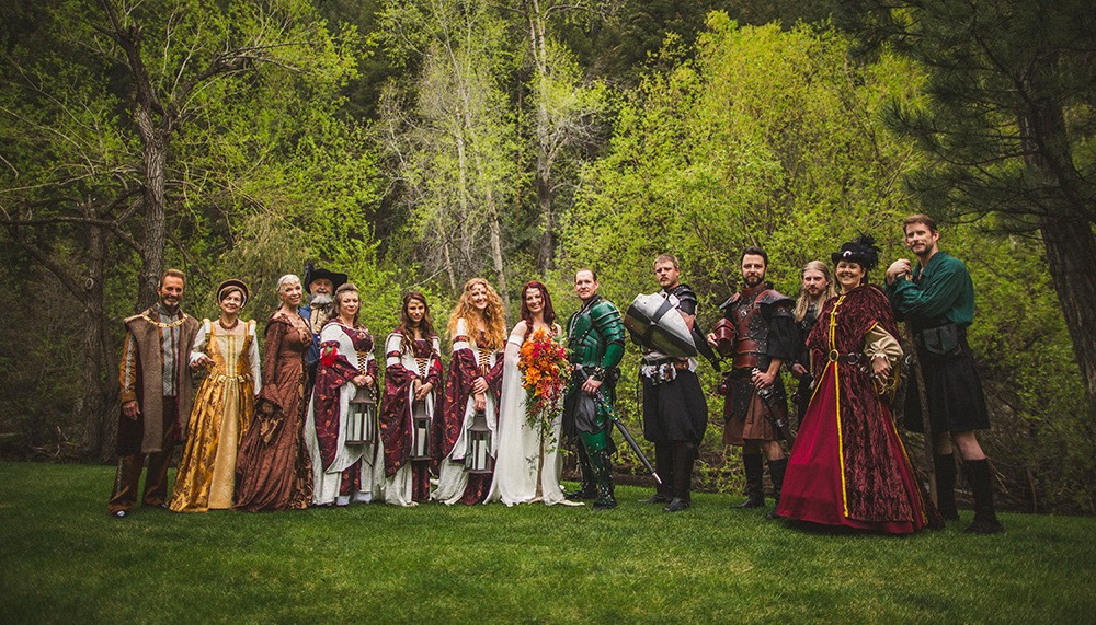 Medieval Weddings And Lotr Weddings Raven Fox Capes