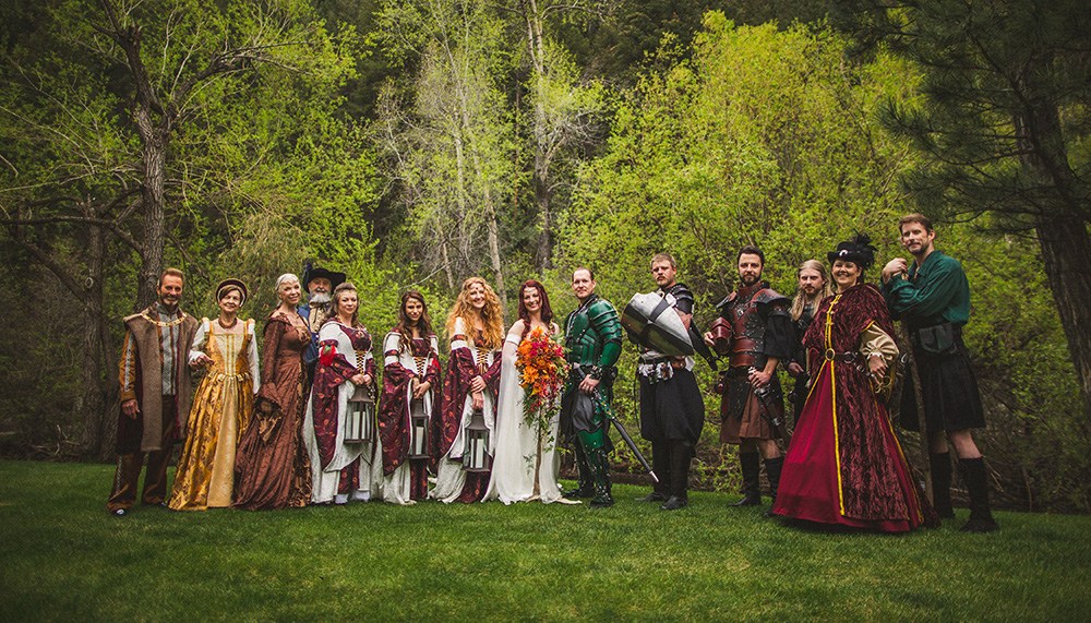 LOTR Wedding Medieval Medival