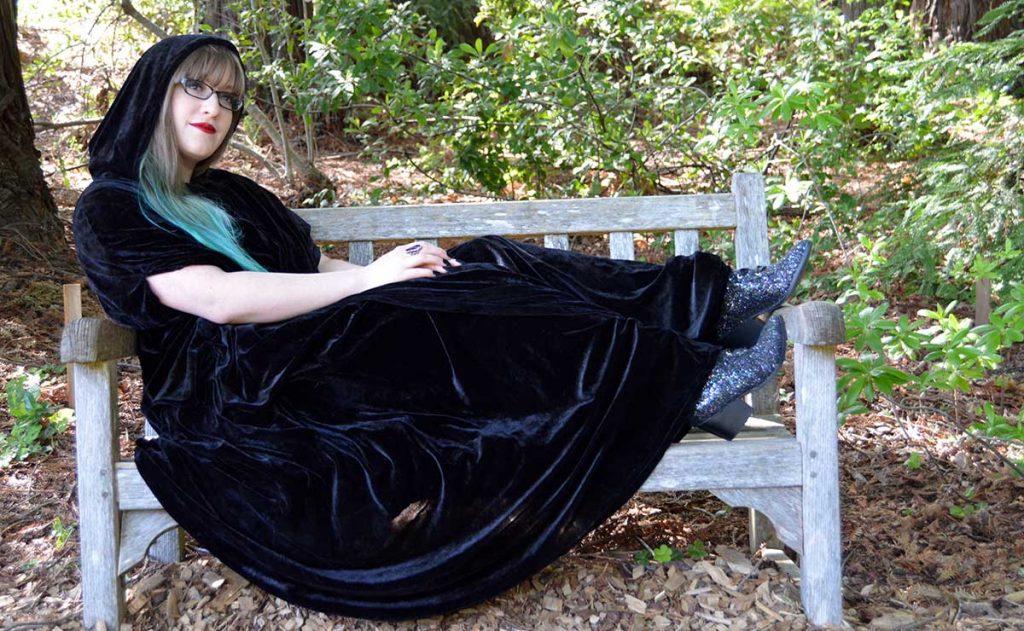 witch cloak witch cape