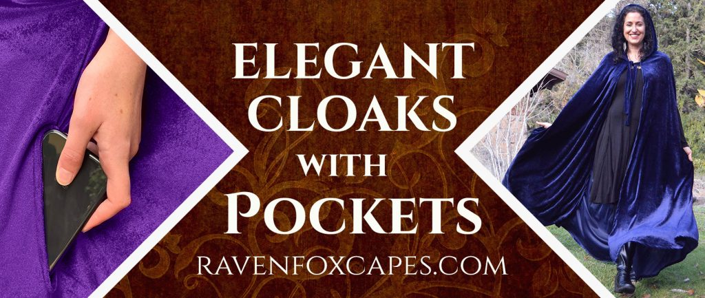 Cloaks with Pockets