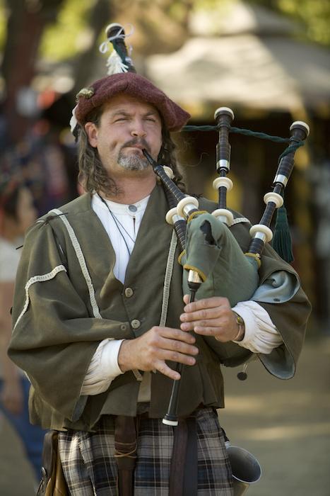 Renaissance Faire Bag Piper
