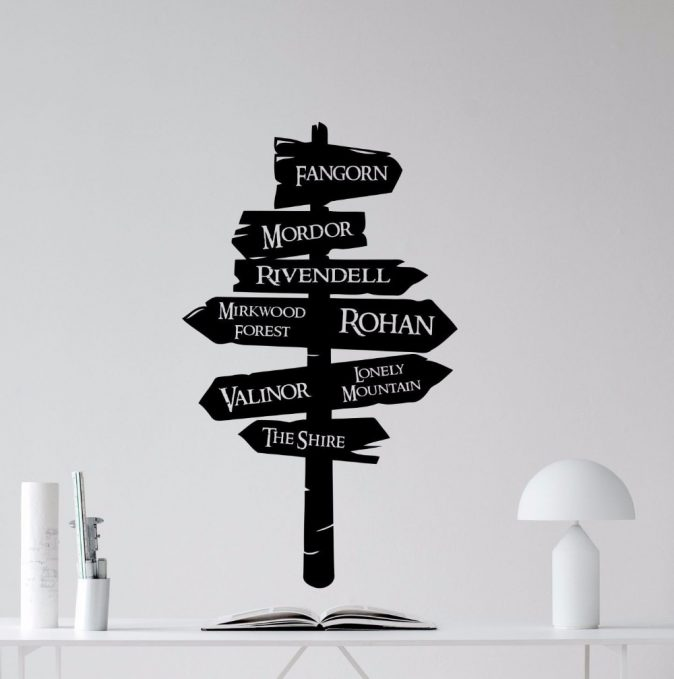 Sign Pos Wall Decal