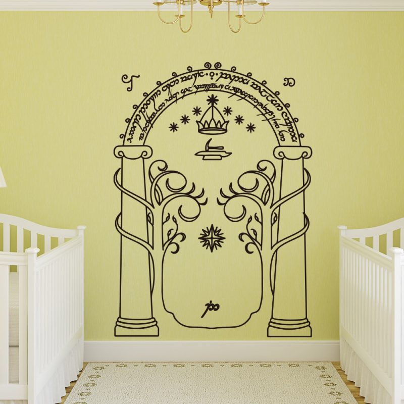 Entrance Arch Wall Decal