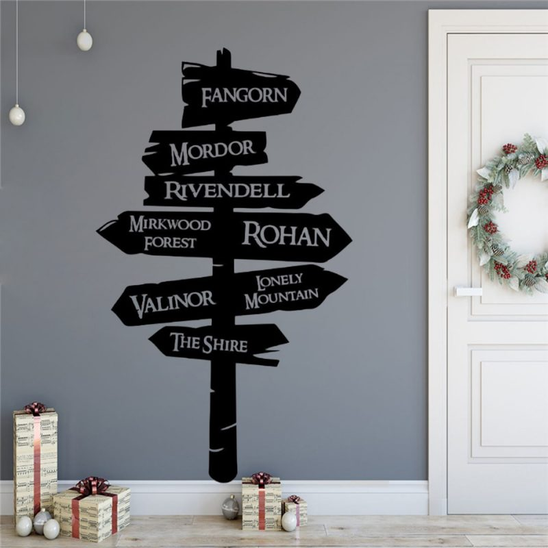 Sign Post Wall Decal