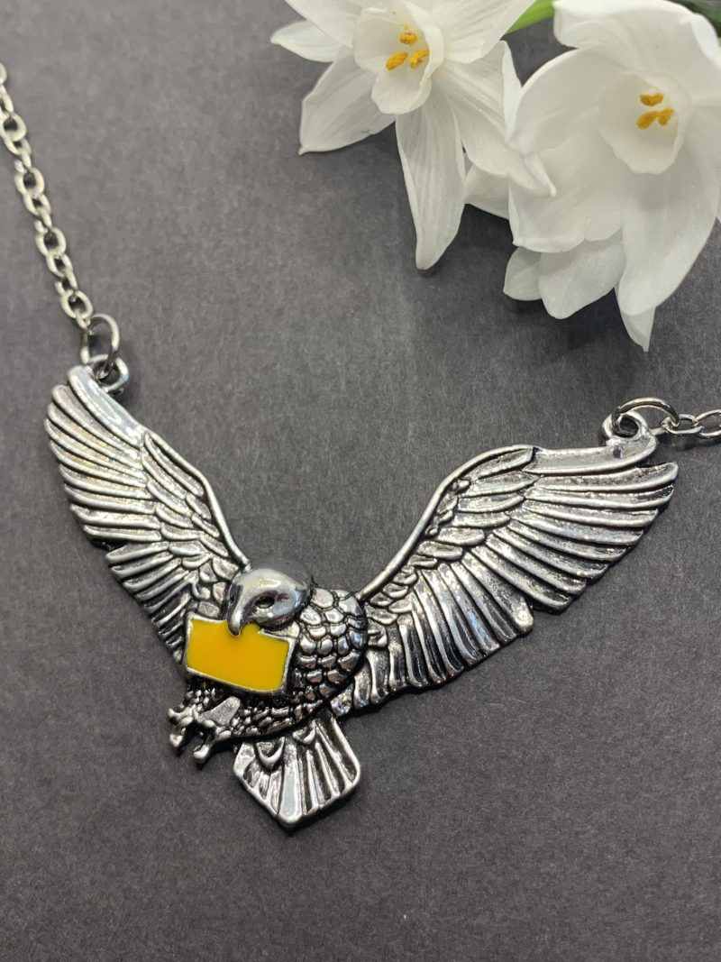 Snowy Owl Pendant Necklace