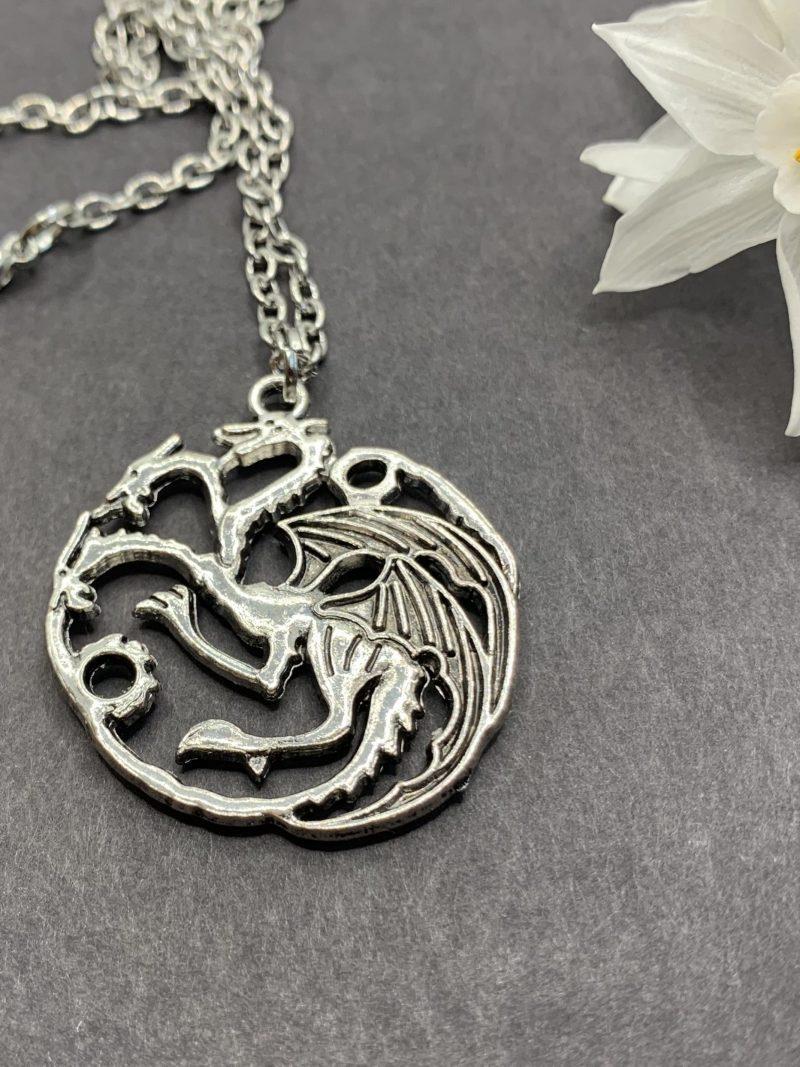 Three-headed Dragon Pendant