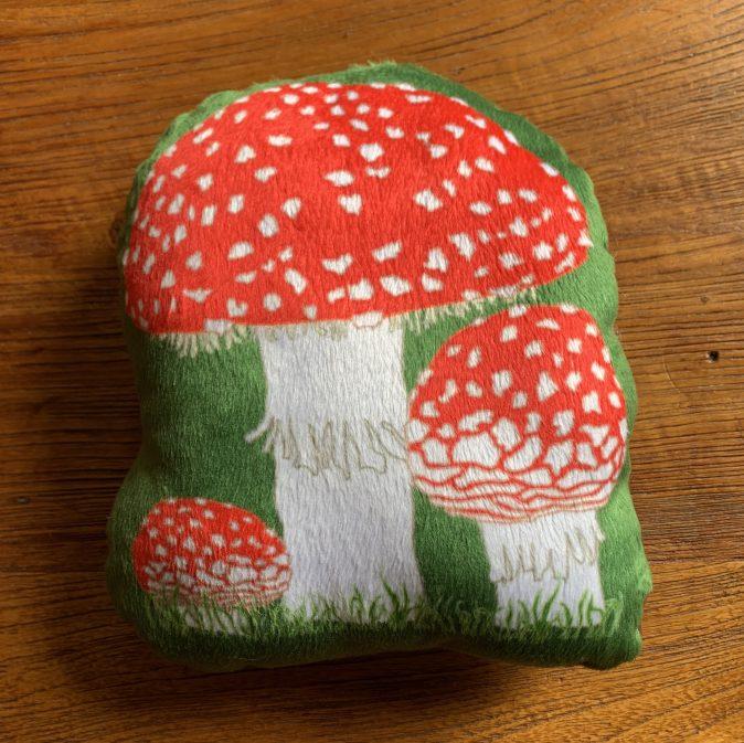 Mushroom Pillow Toadstool Stuffie