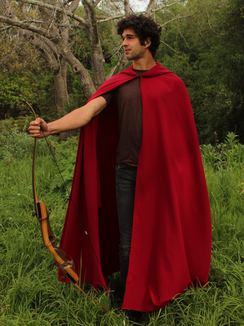 Hooded Cloak Red