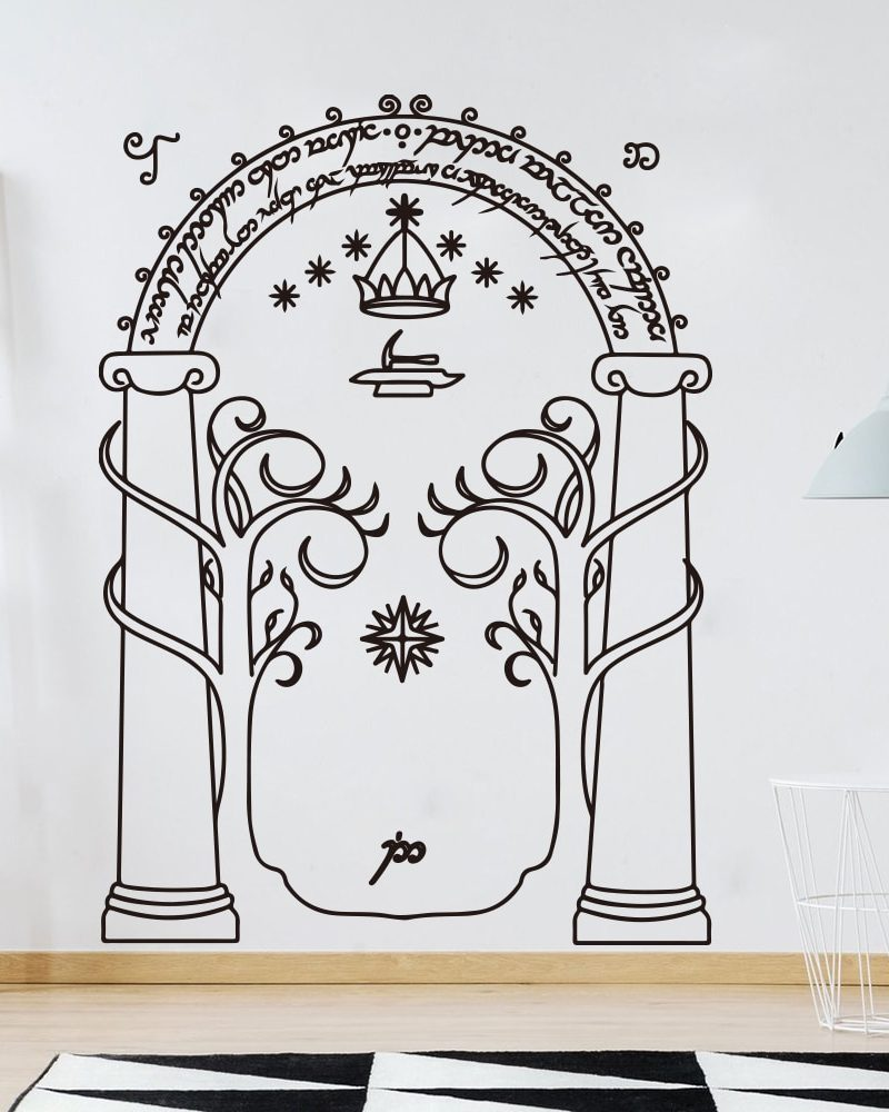 Doorway Wall Decal