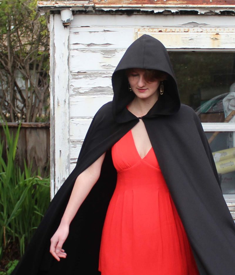 Hooded Cloaks with Pockets