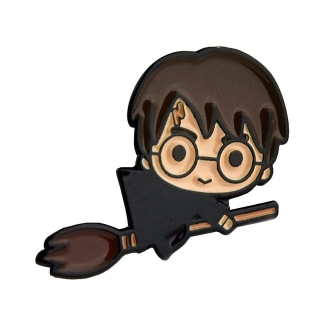 Young Harry on Broom