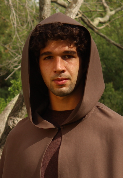 Hooded Cloak Brown
