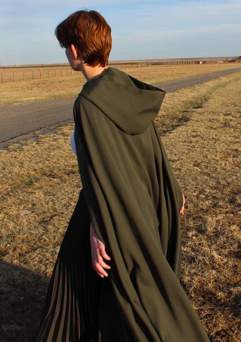 Hooded Cloak Women