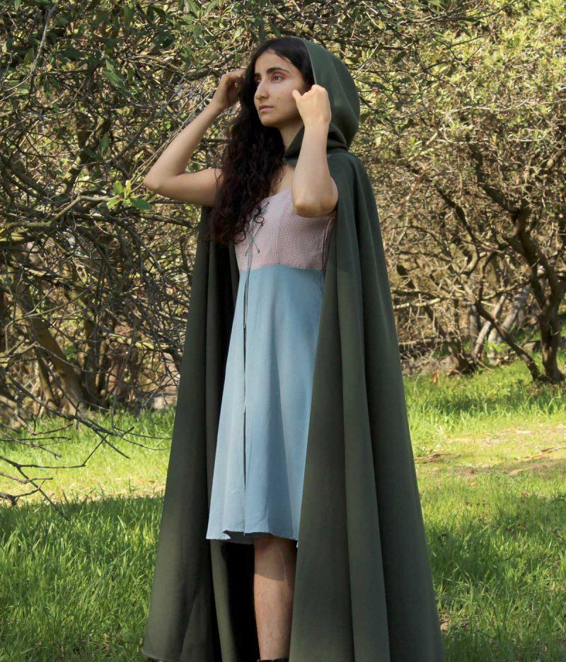 Hooded Cloak Women's