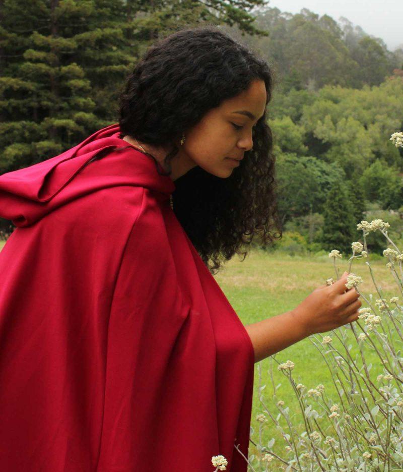 Women's Hooded Cloak